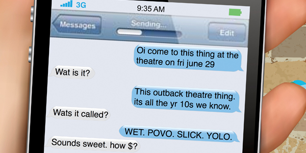 WET. POVO. SLICK. YOLO @ the Griffith Regional Theatre, Friday June 29
