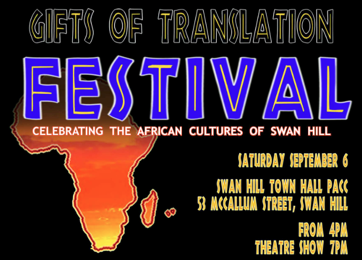Gifts of Translation Festival – Swan Hill – 6 September 4pm